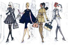 Stroll In The City: Stylish Stripes, Caped Crusader, The Camel Coat & Elegant Ensemble by Hayden Williams