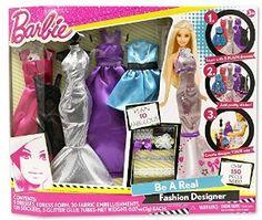 Amazon.com: Barbie Be a Fashion Designer: Toys & Games
