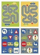 road rug map