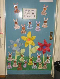 Classroom Door Decoration by Have Fun Teaching, via Flickr