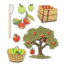 Apple Picking Stickers - Jolees Boutique