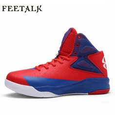 bcfaa06f6875 Big Kids Basketball Shoes Boys Girls Sneakers Shockproof Running Walking  Shoes Outdoor Indoor Basketball Training