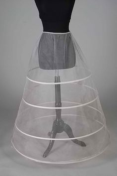 Crinoline Date: ca. 1955 Culture: American Medium: Synethetic Credit Line: Brooklyn Museum Costume Collection at The Metropolitan Museum of Art, Gift of the Brooklyn Museum, 2009 Accession Number: 2009.300.8460