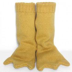 the miniature knit shop yellow bird feet
