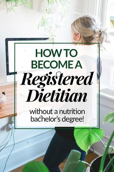 """One of the most common questions I get is """"how did you switch career paths to become a registered dietitian (RD)?"""" I'm detailing every step you'll need to take if you want to become a dietitian and have a non-nutrition bachelor's degree. Nutrition Education, Nutrition Jobs, Nutrition And Dietetics, Nutrition Guide, Health And Nutrition, Smart Nutrition, Nutrition Tracker, Cheese Nutrition"""