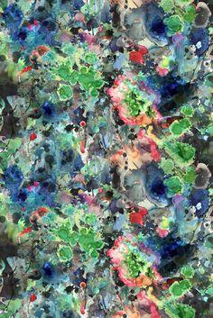 Timorous Beasties Fabric - Kaleido Splatt All Over