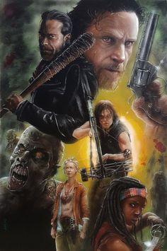 Walking Dead Fan Art