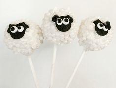 Sheep cake pops farm animals