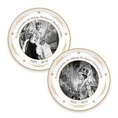 Diamond Jubilee Commemorative Plates
