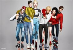 Sims 4 CC's - The Best: POSE PACK by ruby-sims