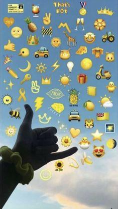 Pin by Nayllaraini_ on Wallpaper emoji in 2019 Emoji Wallpaper Iphone, Iphone Hintegründe, Sad Wallpaper, Cute Wallpaper Backgrounds, Trendy Wallpaper, Tumblr Wallpaper, Aesthetic Iphone Wallpaper, Aesthetic Wallpapers, Cute Wallpapers