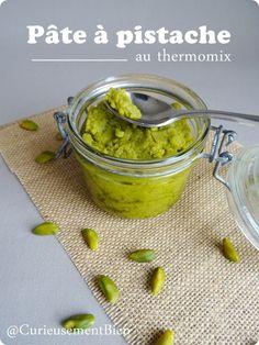 Pâte à pistache au thermomix - Curieusement Bien