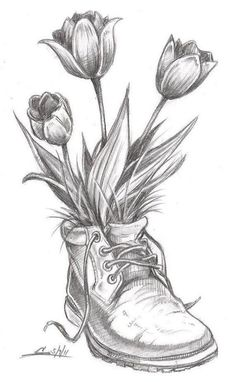 Flower Drawing Flower Sketch Drawings Ideas On Pretty Jpg . flower drawing Flower sketch drawings ideas on pretty jpg sketch drawing ideas - Sketch Drawing Pencil Drawings Of Flowers, Pencil Sketch Drawing, Pencil Shading, Flower Sketches, Pencil Art Drawings, Art Drawings Sketches, Cool Drawings, Drawing Flowers, Flower Sketch Pencil