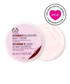 Best Night Cream No. 16: The Body Shop Vitamin E Nourishing Night Cream, $21