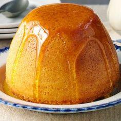 Steam Sponge Pudding Sponge Pudding Recipe, Steamed Pudding Recipe, Sponge Cake Recipes, Cake Mix Recipes, Pudding Recipes, Steamed Sponge Cake Recipe, British Baking Show Recipes, British Bake Off Recipes, Hot Desserts