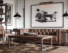 Restoration Hardware Living
