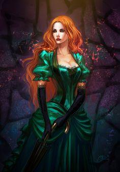 25 Beautiful Digital Fantasy Art works by AnndrKusuriuri 20