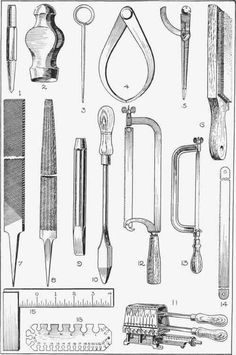 Metalworking Tools of yesteryear and today. Good design lasts for years