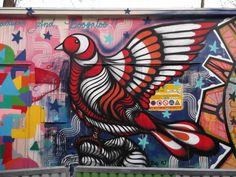 STREET ART, RUE DE L'OURCQ, PARIS