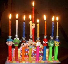 DIY Menorahs To Make with Your Kids