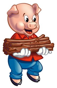 Three Little Pigs Clip Art Cliparts Co - Clipart Suggest