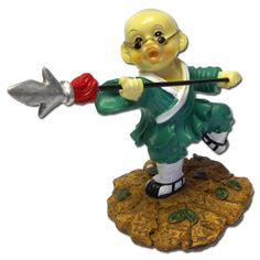 Spear Master Shaolin Monk now available from www.karatemart.com/