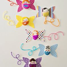 Make magical rock paper fairies.