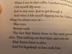 THIS! Carry On by Rainbow Rowell.