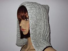 Style, Silver Ash, Knitting And Crocheting, Cowl, Hair Makeup, Swag, Outfits