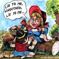 Lie to me Pinocchio, Lie to me...  http://toolboxforprofit.com/secrets-of-the-millionaire-mind/