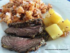 Vivendo para Comer: Fraldinha com mostarda