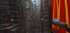 Fifth Element, Ghost In The Shell, Science Fiction Art, Colonial, Concept Art, Sci Fi, Architecture, World, Star