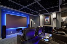 Awesome Home Theater with Black Leather Seats And Led Lightings - Nicky Laguna -. - Awesome Home Theater with Black Leather Seats And Led Lightings – Nicky Laguna -… – – - Home Theater Lighting, Home Theater Installation, Home Theater Setup, Best Home Theater, Home Theater Rooms, Home Theater Design, Home Theater Seating, Cinema Room, Movie Theater