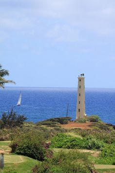 Lihue Lighthouse... This is a beautiful lighthouse on the Island of Kauai.