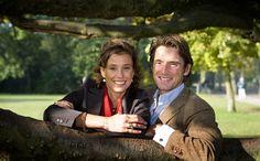 Foto van Prins Maurits en Prinses Marilène, najaar 2007