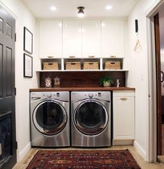 Best 20 Laundry Room Makeovers - Organization and Home Decor Laundry room decor Small laundry room organization Laundry closet ideas Laundry room storage Stackable washer dryer laundry room Small laundry room makeover A Budget Sink Load Clothes Laundry Room Remodel, Basement Laundry, Laundry Closet, Small Laundry Rooms, Laundry Room Organization, Laundry Room Design, Laundry In Bathroom, Compact Laundry, Organization Ideas