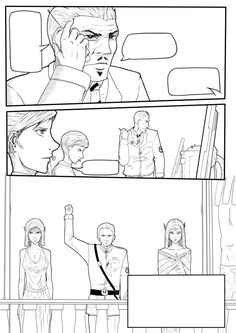 And another page WIP by LordOfInk