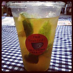 Bluebird Tea Co.'s infamous MojiTEA