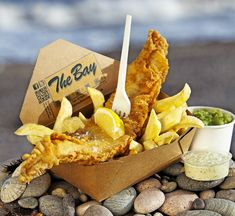 The Bay Fish & Chips Stonehaven, best fish n chips in the north east, will be queued out the door but worth waiting for