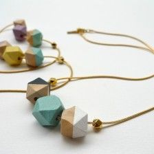 Collier perles de bois | Nadja Carlotti