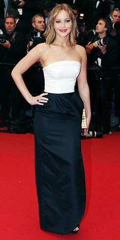 Cannes Film Festival 2013 Fashion Photos - Jennifer Lawrence in Christian Dior from #InStyle