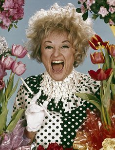 Phyllis Diller was born today 7-17 in 1917. She was a comedienne, actress, and voice artist, best known for her eccentric stage persona and her wild hair and clothes. She passed in 2012.