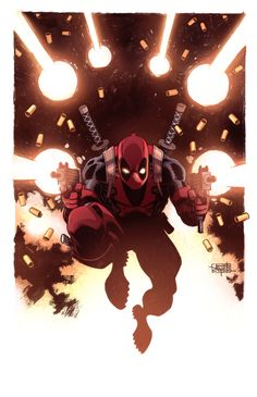 Deadpool Color by cooperdraw