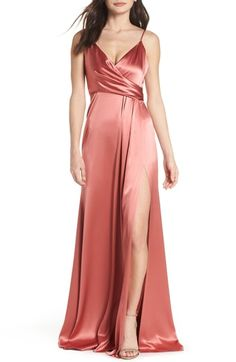 1bc96dec6c105 Looking for Jill Jill Stuart Faux Wrap Satin Gown ? Check out our picks for  the Jill Jill Stuart Faux Wrap Satin Gown from the popular stores - all in  one.