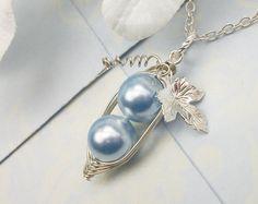 Peas In A Pod Precious Boys Silver Pendant by ThePeasInAPodShop, $16.50