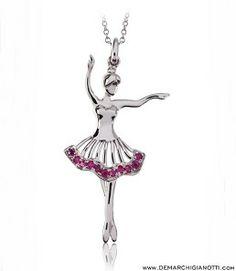 Tutù Gioielli collana in argento e pietre di colore modello sr-primavera www.demarchigianotti.com