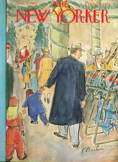 perry barlow, new yorker cover, dec '57