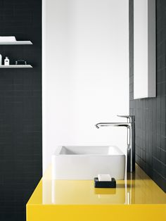 Modern Design: #Hansgrohe #Highriser Washbasin Mixer