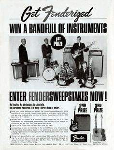 Get Fenderized with a Bandfull of Instruments