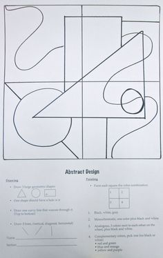 Cubism and Confusion – Making Many Magnificent Marks Drawing Lessons, Art Lessons, Value Drawing, Art Education Lessons, Drawing Projects, Physical Education, Art Sub Plans, Art Lesson Plans, Arte Elemental